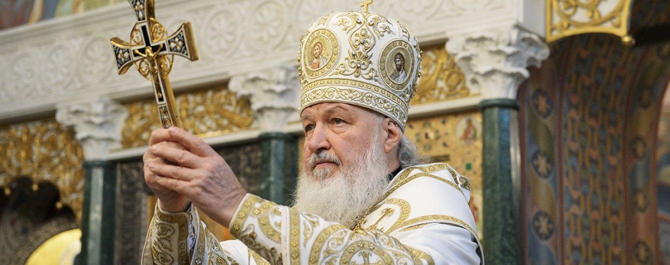 Патріарх Кирило самоізолювався через коронавірус