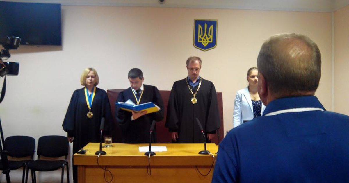 Олега Лантвойта приговорили к 10 годам тюрьмы @ Facebook / Анатолий Матиос