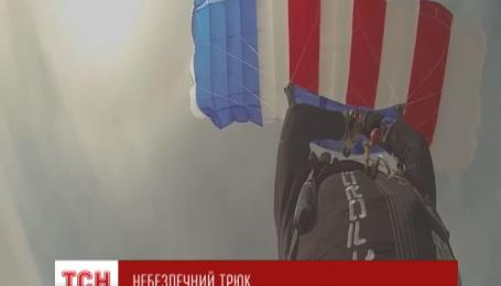 Американская инструктор подожгла свой парашют в воздухе и стала звездой Интернета