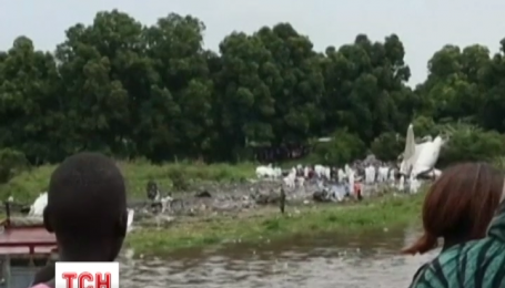 В Южном Судане разбился Ан-12 с российским экипажем