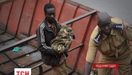 В Южном Судане разбился грузовой АН-12