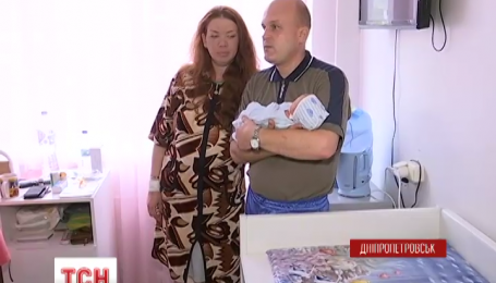 В Днепропетровске матерью стала 32-летняя женщина, которой два года назад пересадили почку