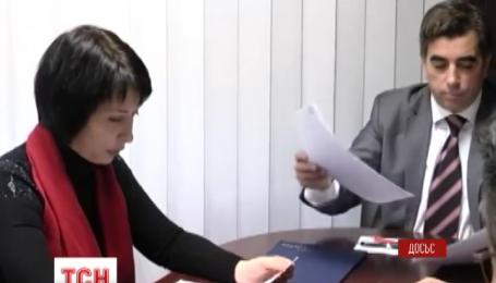 В Печерском суде избирают меру пресечения Елене Лукаш