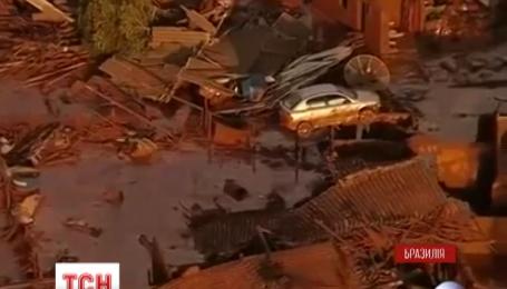 В Бразилии прорвало дамбу