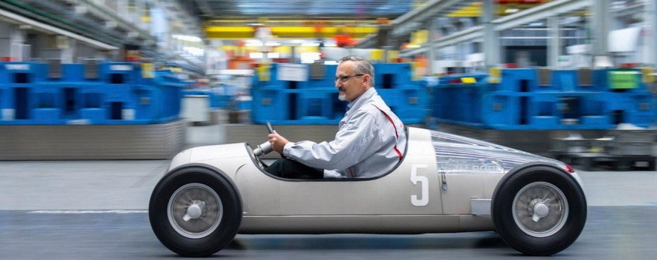 Audi создала гоночный болид 1936 года с помощью 3D-принтера