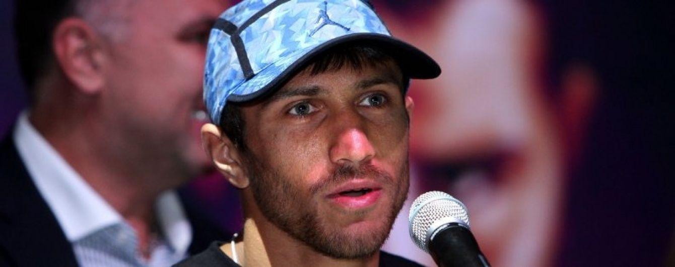 Ломаченко порадив супернику бути у суперформі у бою з ним