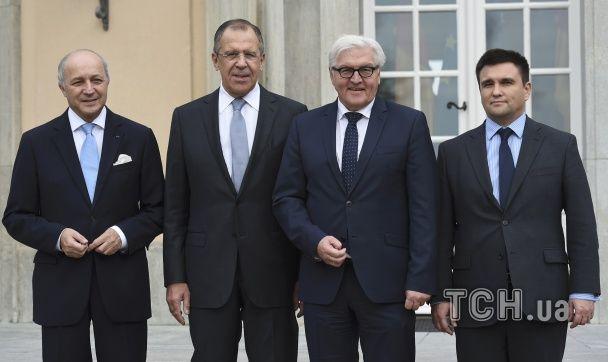 """Міністри """"нормандської четвірки"""" зібралися на перемовини у Берліні"""
