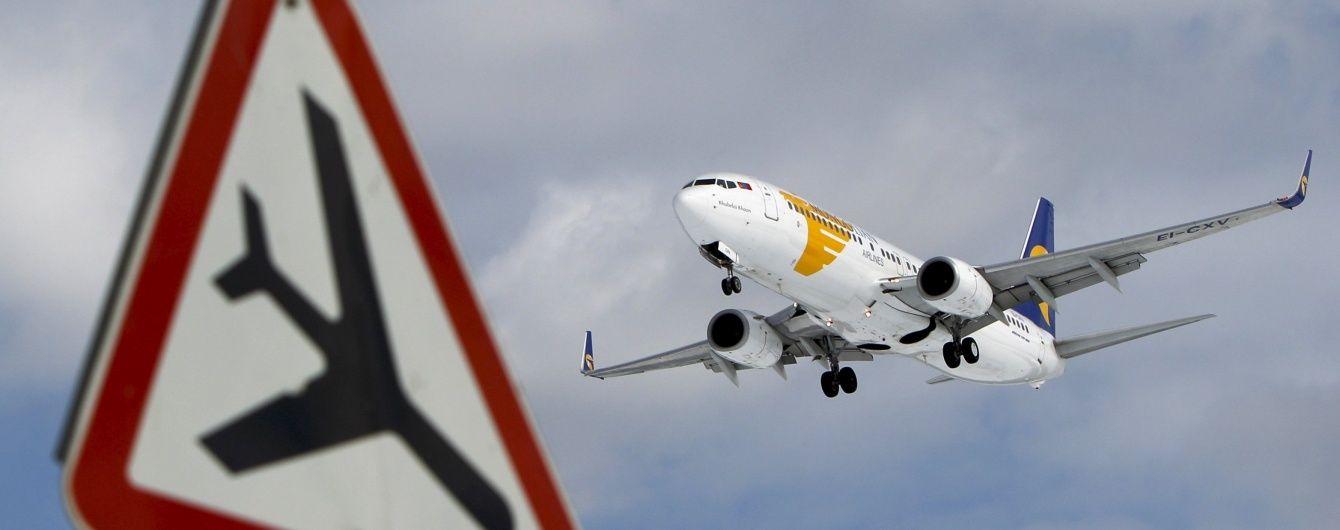 В аеропорту Львова літак екстренно перервав розбіг на зліт через підозру у технічній несправності