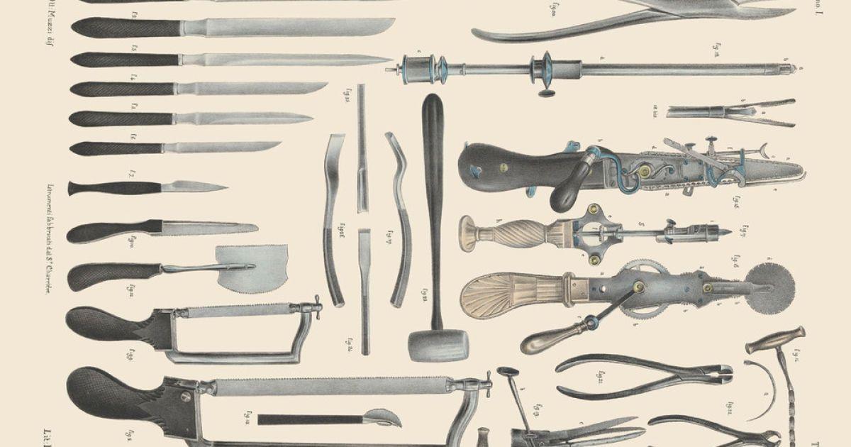 Хирургия 19-го века.
