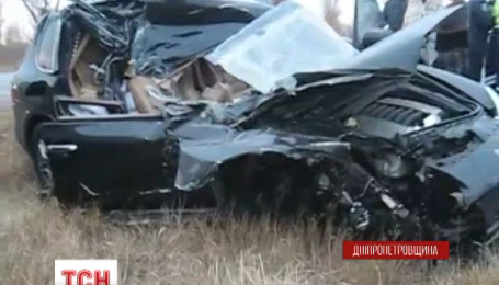 Кандидат в мэры Павлограда попал в аварию на Днепропетровщине