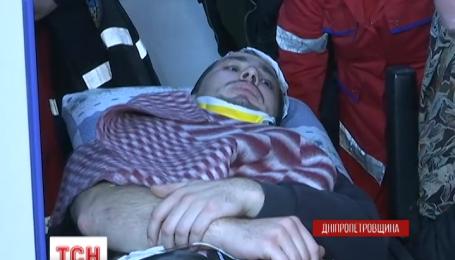 Кандидат в мэры Павлограда Евгений Терехов попал в аварию на Днепропетровщине