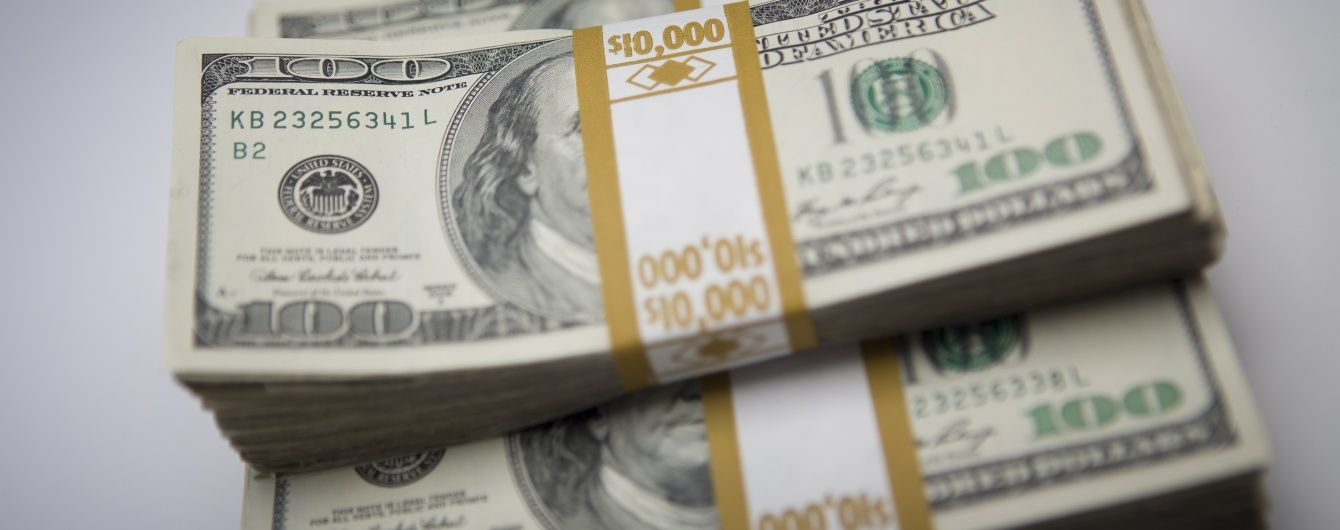 Долар втратив у ціні в курсах Нацбанку на 7 листопада. Інфографіка