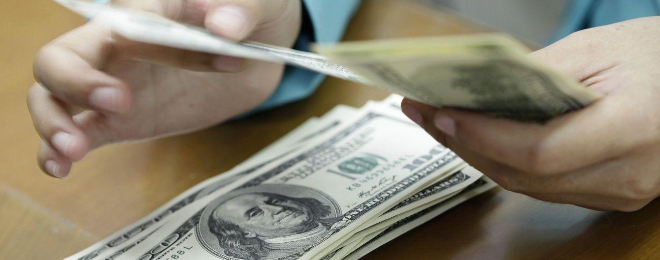 Після кількох днів здешевшання валюта знову здорожчала в курсах НБУ. Інфографіка