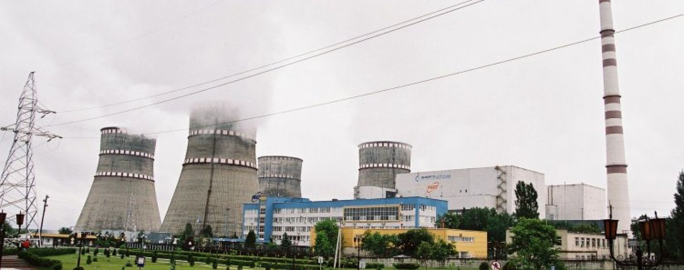 На Ровенской АЭС внезапно отключился энергоблок