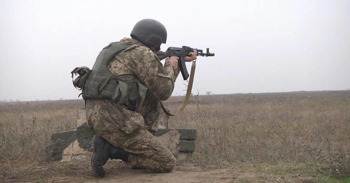 Морская пехота ВСУ под Докучаевском