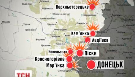 Боевики палят из запрещенного оружия и маскируются танки