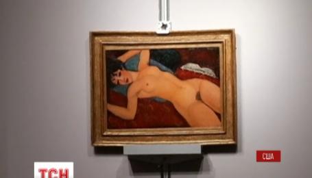 Картину Модильяни «Лежащая обнаженная» продали за 170 млн долларов