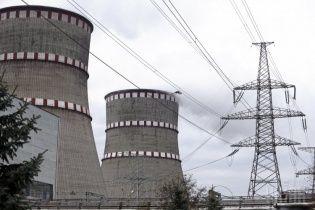 Рівненська АЕС відключає енергоблок для ремонту
