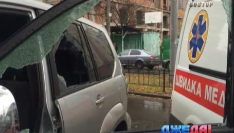 Дерзкое нападение на бизнесменов в центре Киева