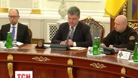 СНБО Украины просит выделить на оборону страны не менее 100 млрд гривен