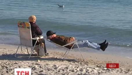 В Одесі погода вирішила подовжити курортний сезон