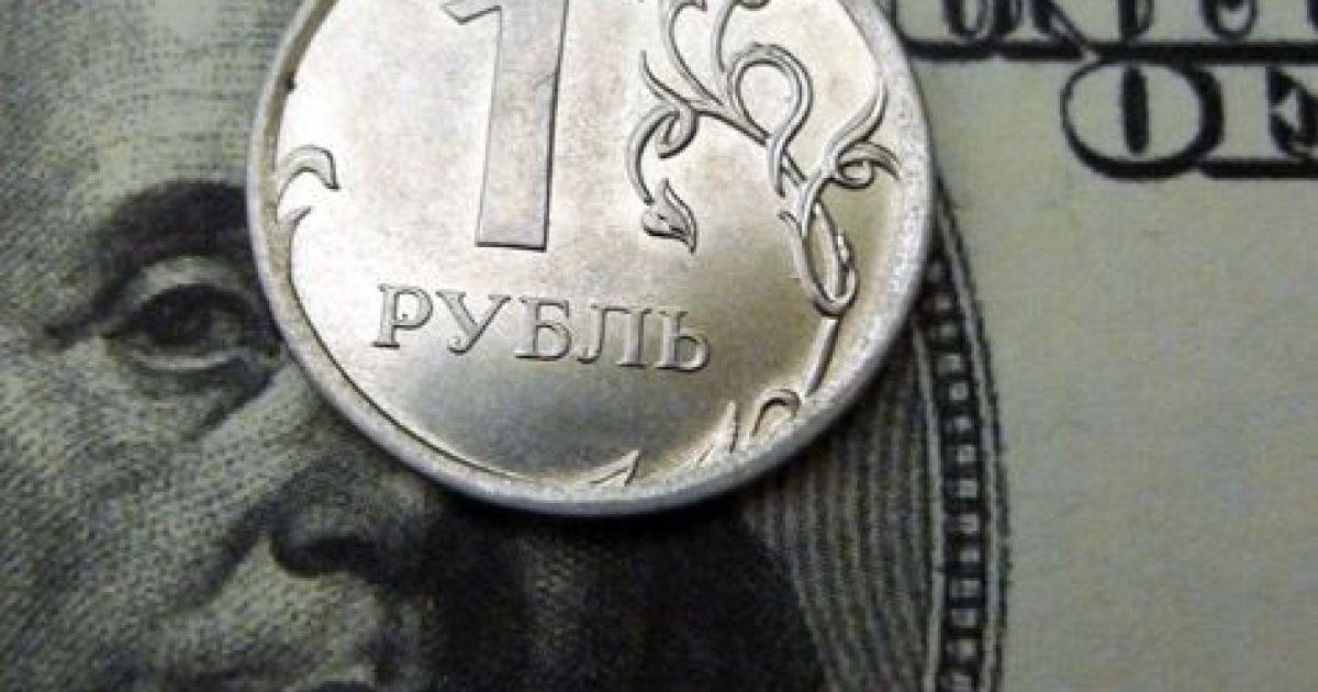 В России традиции неизменны: утро начинается с падения рубля
