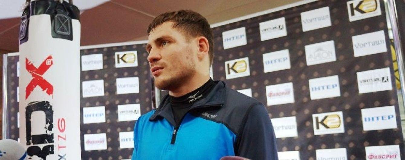 """Український боксер Берінчик проведе бій з аргентинським """"Пакменом"""""""