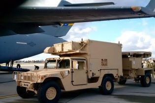 Україна отримала від США дві станції контрбатарейної боротьби