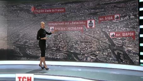 Террористические атаки в Париже начались со стадиона Стад де Франс