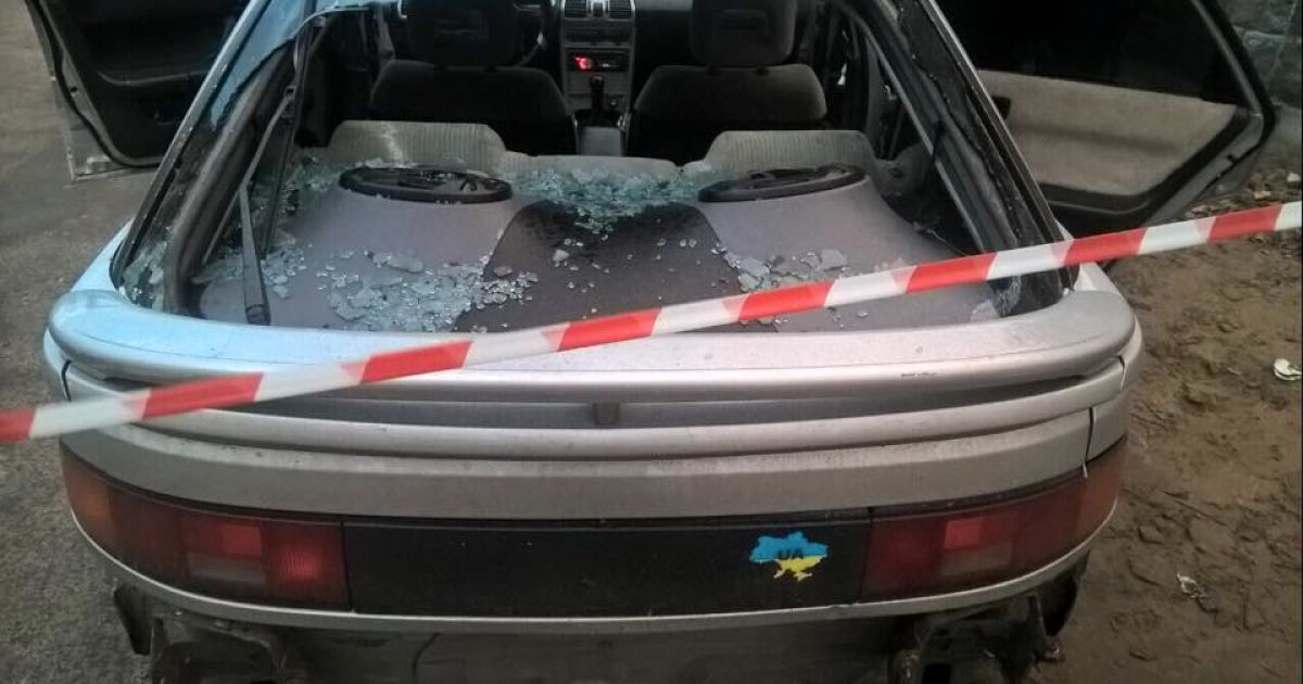 В Киеве полиция выстрелами останавливала авто беглеца