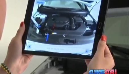 Корейцы придумали виртуальную инструкцию к автомобилям для блондинок
