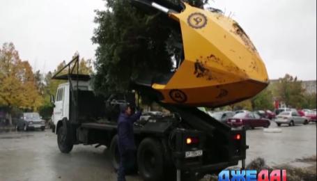 Украинские инженеры представили механизированного садовника