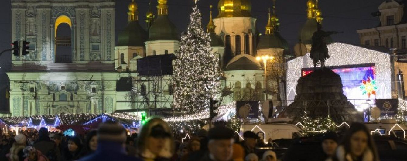 Новорічна казка у центрі Європи: де у Києві зустріти зимові свята. Інфографіка