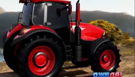 Как выглядит самый красивый трактор в мире