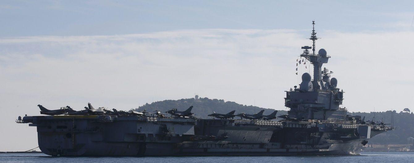 """Американські військові завдали першого удару по """"ІД"""" з авіаносця"""