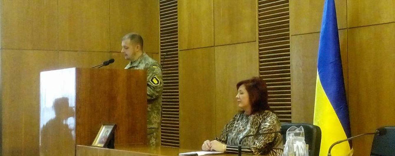 На Сумщине новоизбранный мэр повесил в кабинете портрет Бандеры вместо Порошенко