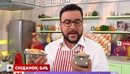 Мини-кейки со сладким перцем от Руслана Сеничкина