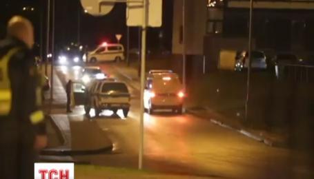 В Литве полиции ловила беглеца вооруженного автоматом