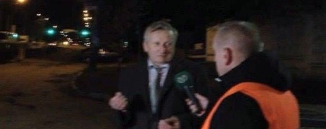У Києві генерал-полковник після скоєної ДТП тікав через паркани