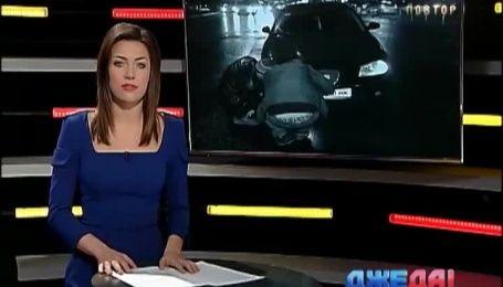 Как автоледи разбила семь машин, а заодно чуть не убила съемочную группу