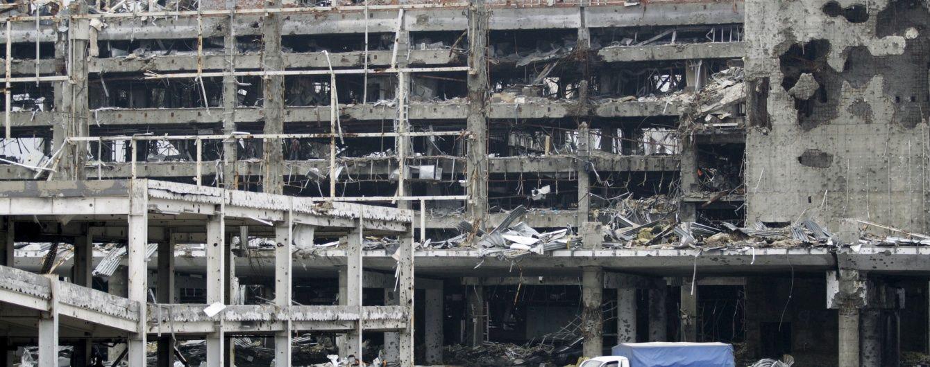 Прицільні обстріли Донецького аеропорту та втрати серед військових. Мапа АТО