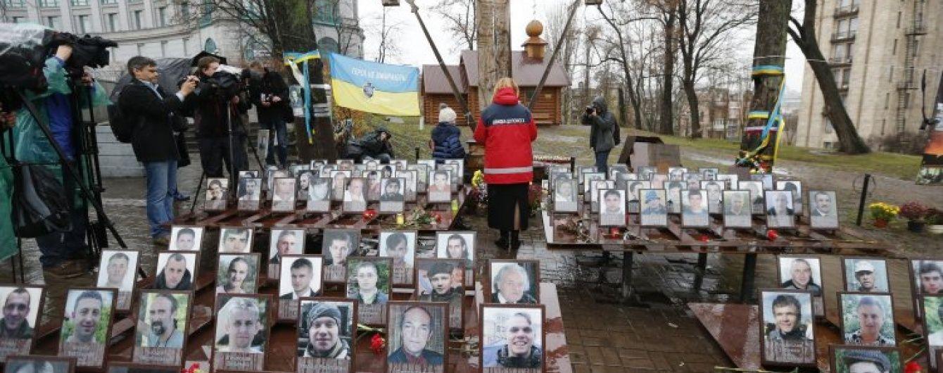 """""""Тут немає чужих, це всі наші браття"""": на Майдані згадують Небесну сотню"""