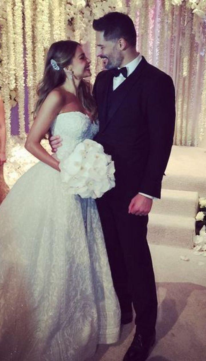 Свадьба Софии Вергары и Джо Манганьелло @ София Вергара/Instagram