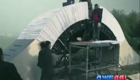 В Поднебесной построили мост из бумаги