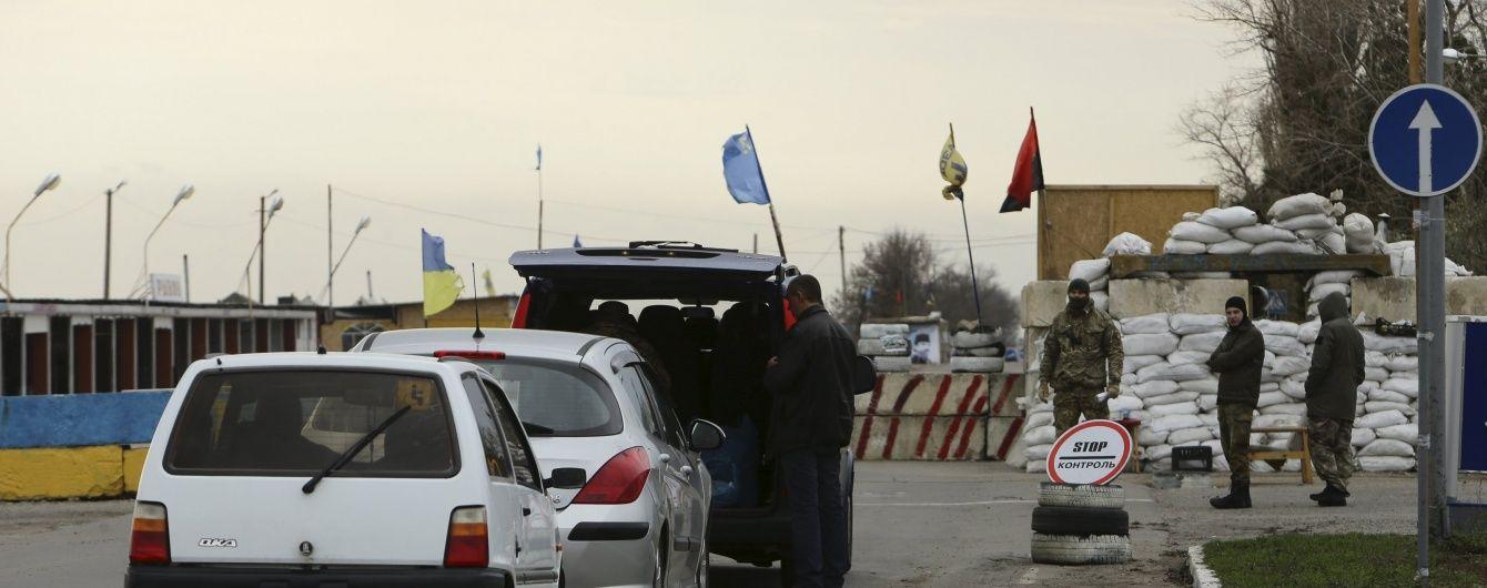 """До конца 2018 года Украина """"почти с нуля"""" обустроит два КПВВ на админгранице с Крымом"""