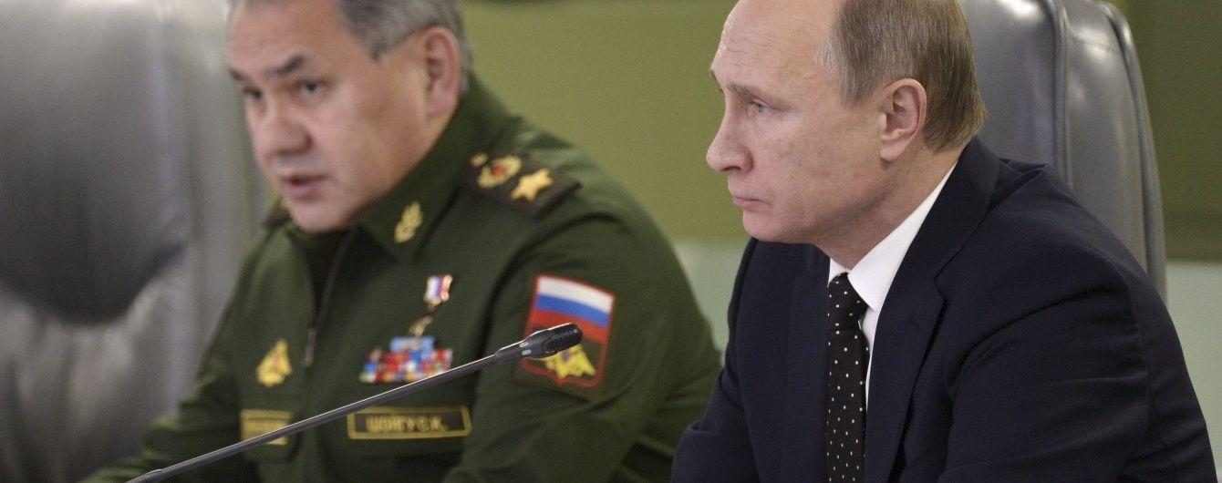 Путін обговорив з Радою безпеки РФ, як врегулювати ситуацію в Сирії