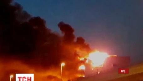 В ОАЭ произошел пожар в метро