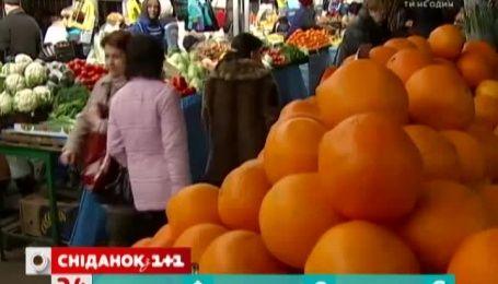 В Україні різко подорожчали овочі та фрукти