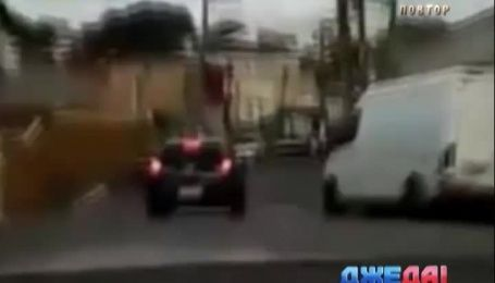 Гонщик из нарколабораторией на борту играл в догонялки с полицейскими в Бразилии