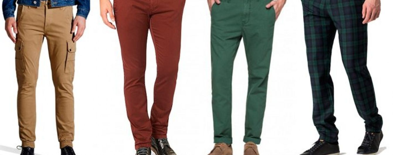 Нові моделі осінньо-зимових чоловічих штанів надійшли в продаж в Розетці b810c31111c67